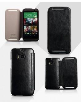 Husa protectie din piele ecologica pentru HTC One 2 M8